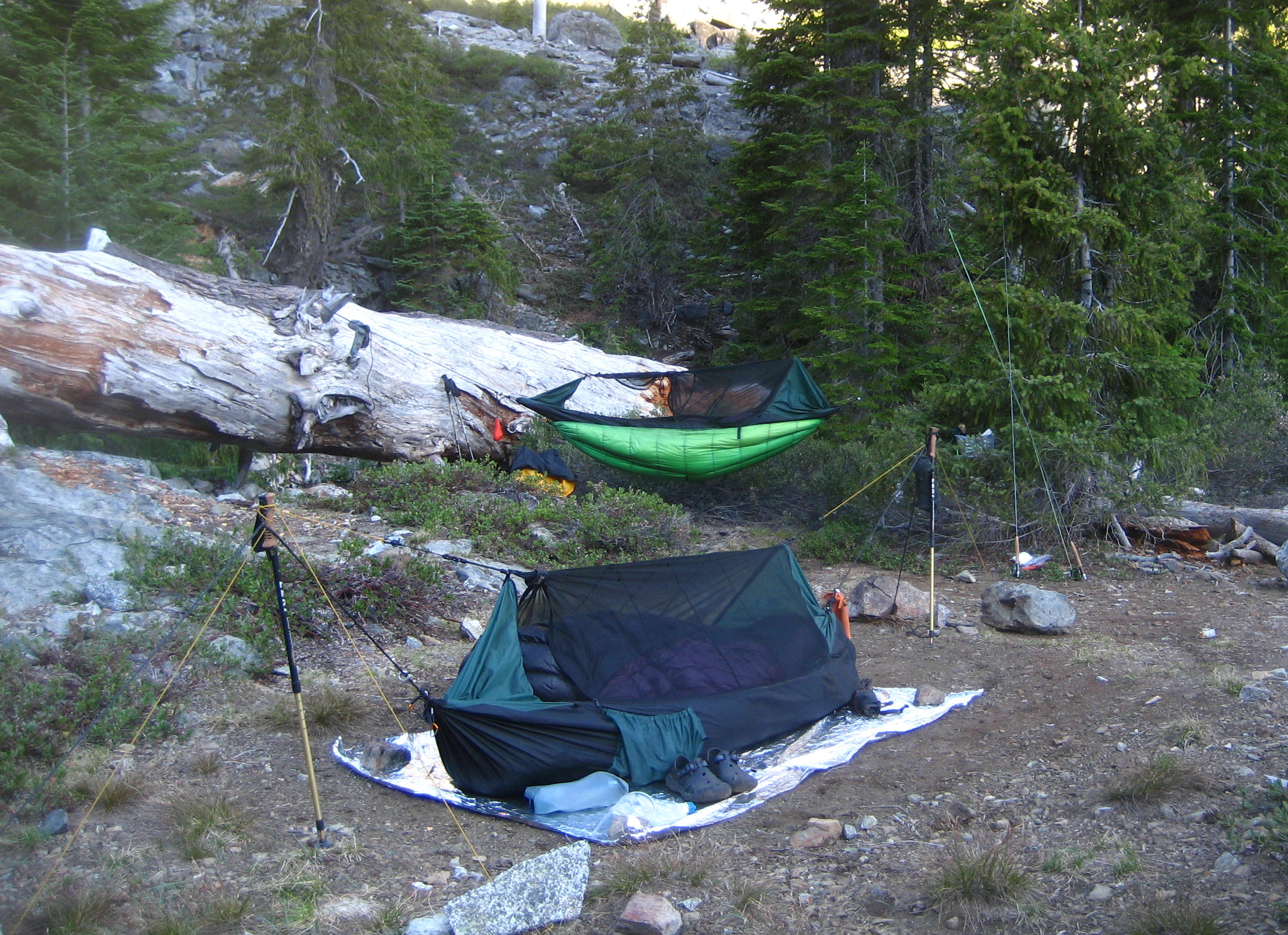 IMG_5556 & Clark Jungle Hammock u2013 No Trees! | Boomeru0027s Lightweight ...